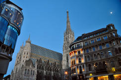 Abendlicher Stephansdom