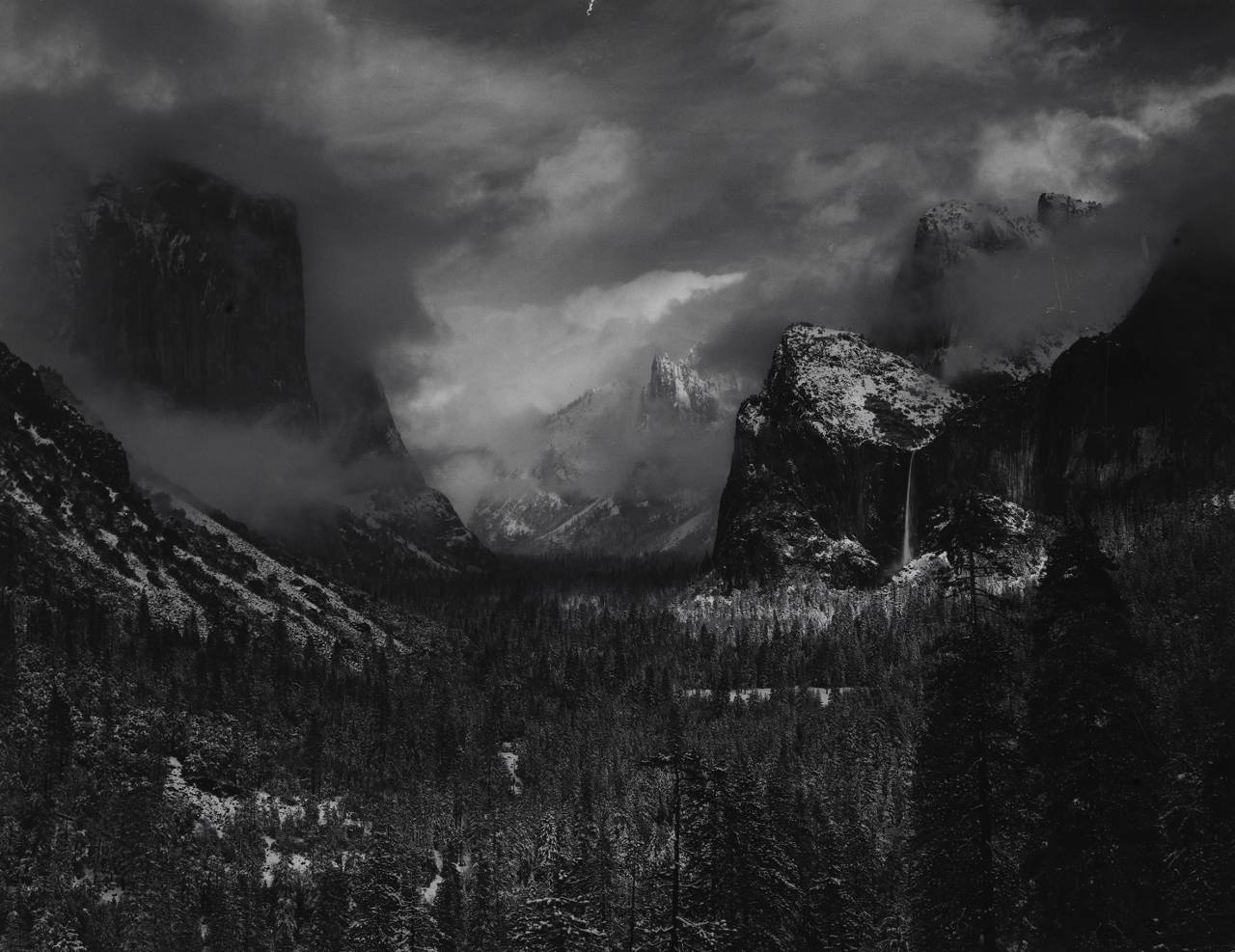 |Ansel Adams, Yosemite National Park, Kalifornien, USA, um 1937 (© National Geographic Image Collection)