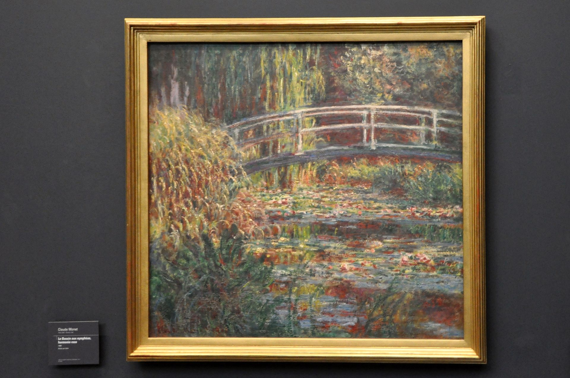Claude Monet, Brücke in Giverny