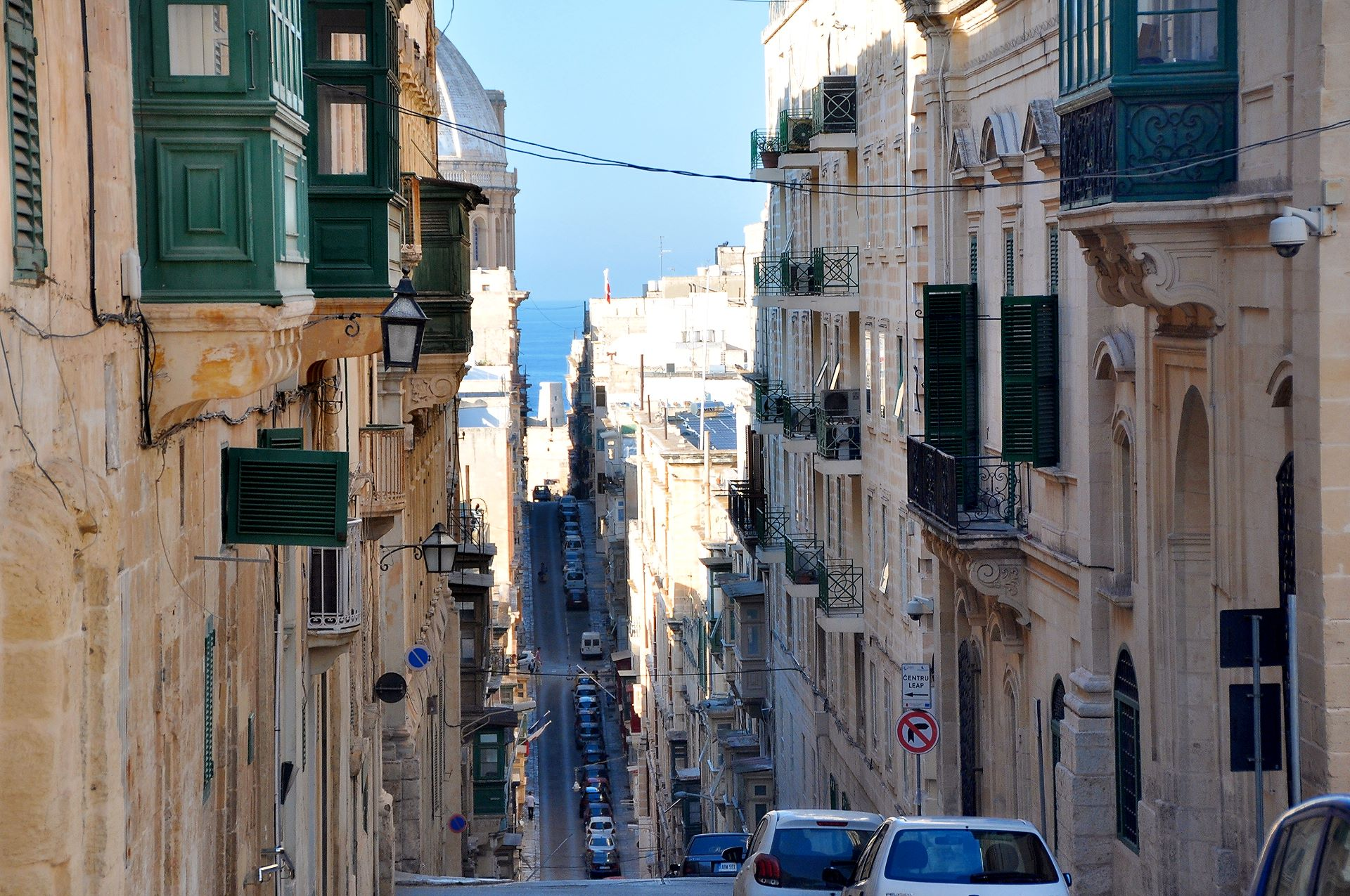 Gassen in Valletta