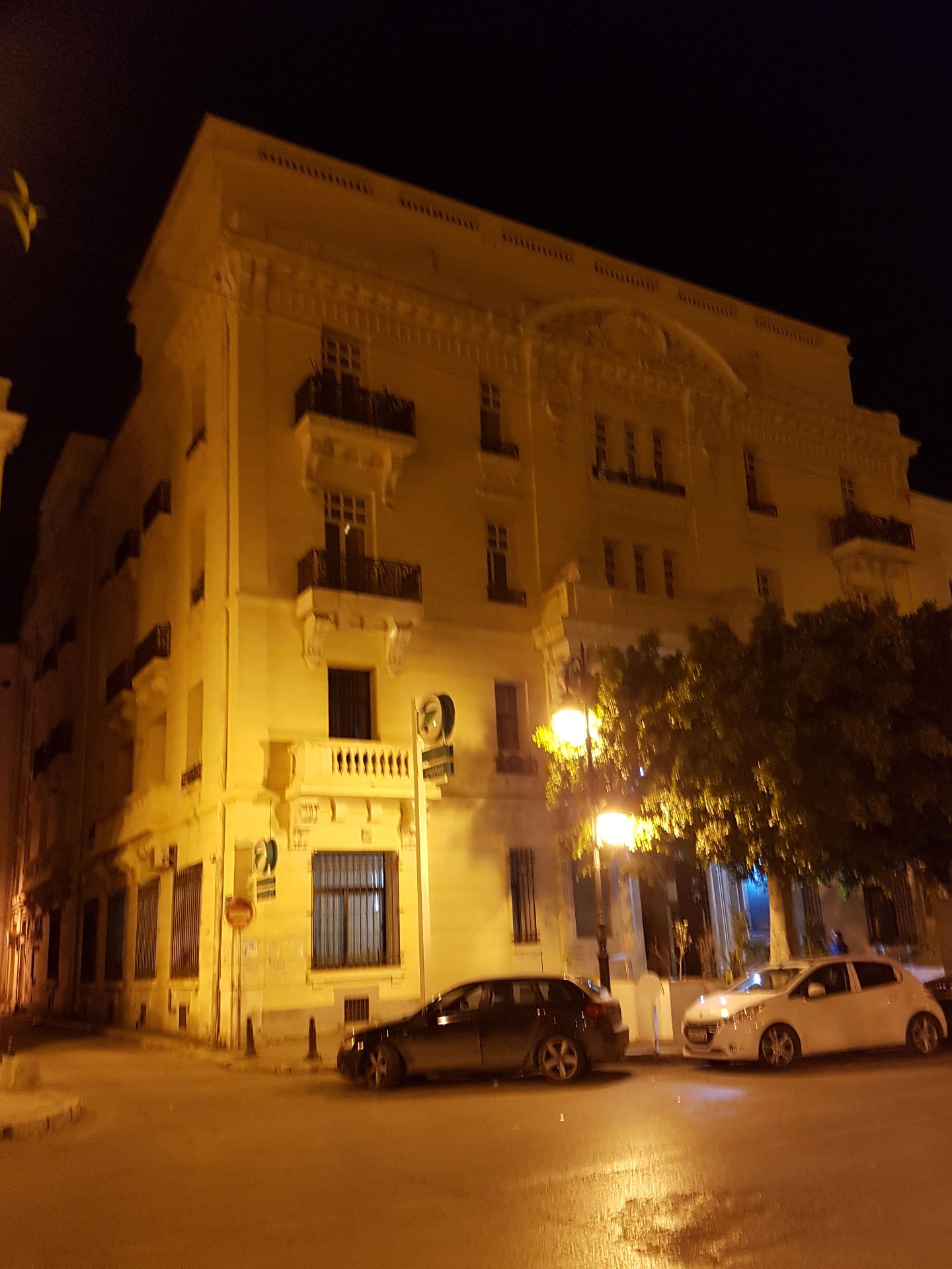 Tunis, Hotel in der Avenue de France